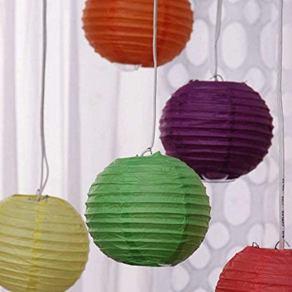 Round Paper Lamps