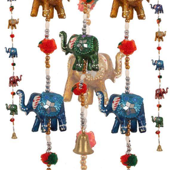 Decorative Elephant Lakh Line Pair